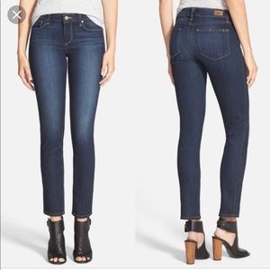 Paige ankle peg mid rise ankle skinny. 24 NWT